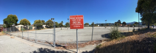 Abandoned VTA Park & Ride Lot at Curtner Avenue and Almaden Road/Expressway.