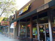 SubWay (approachable from Lincoln Avenue or back parking lot)