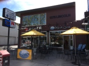 The former Yogurt Cove (Lincoln Avenue, north of Brace Avenue), now replaced by Icicles