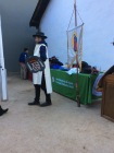 Re-enactments in traditional clothes typical of the de Anza Trail experience.