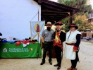 The National Park Service and the Juan Bautista de Anza Trail offer displays for visiting guests.